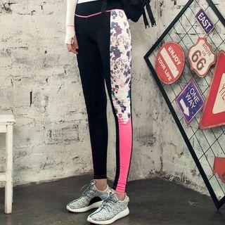 Workout Printed Skinny Pants