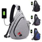 Usb Port Sling Bag