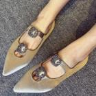 Buckled Cutout Flats