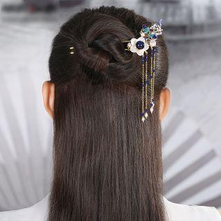 Retro Shell Flower Hair Stick As Shown In Figure - 12.5cm