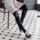 Smiley Print Leggings