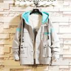 Letting Hooded Zip Jacket