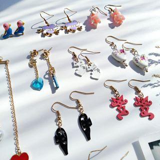 Cutout Dangle Earring (various Designs)