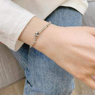 925 Sterling Silver Knot Bracelet Knot Bracelet - One Size