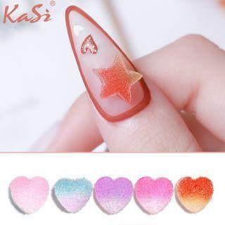 Gummy Star / Heart Nail Art Decoration