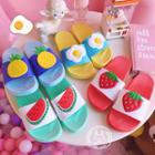 Fruit Accent Slippers