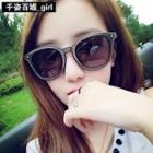 Metal Frame Couple Sunglasses