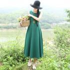 Plain Maxi Sleeveless Dress
