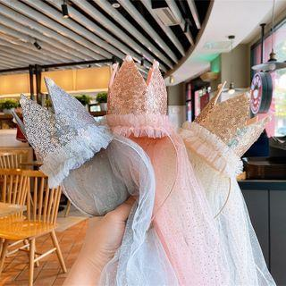 Mesh Crown Headband
