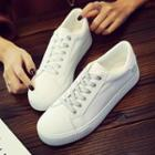 Contrast Strap Sneakers
