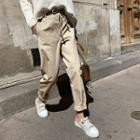 Drawcord Baggy-fit Pants