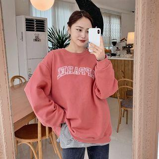 Apparel Letter Sweatshirt