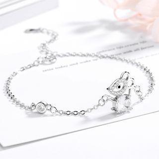 Mouse Bracelet Silver - One Size