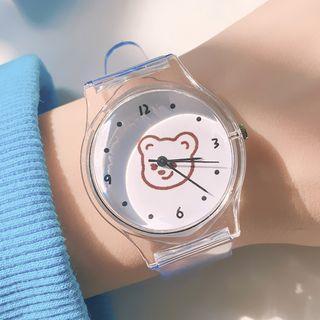 Monster Print Strap Watch