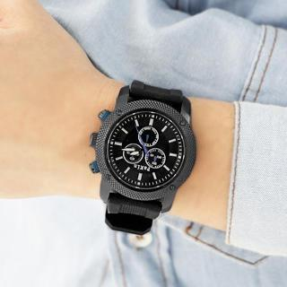 Silicon Strap Watch