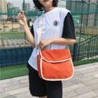 Solid Color Crossbody Shoulder Bag