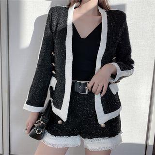 Tweed Jacket / Shorts