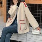 Fleece Panel Jacket