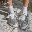 Berriboned Glitter Sneakers
