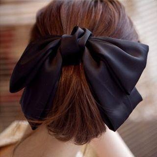 Silky Bow Hair Accessory