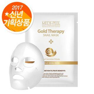 Medi-peel - Gold Therapy Snail Mask 1pc