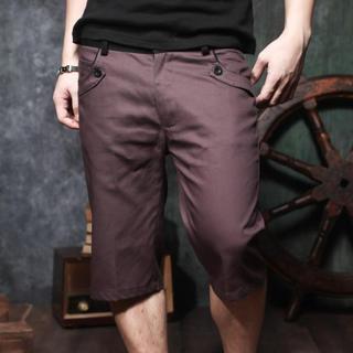 Contrast-trim Shorts