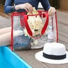 Iconic Series Clear Shopper Bag