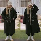 Plain Coat Black - One Size