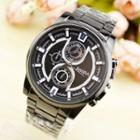Stainless Steel Bracelet Watch One Size - One Size