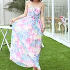 Halter Patterned Dress