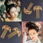 Retro Alloy Hair Comb