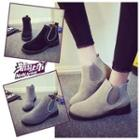 Gusset Ankle Boots
