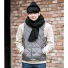 Padded Buttoned Vest