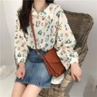 Floral Blouse White - One Size