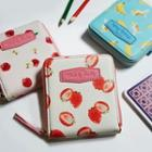 Melody Fruits Series Zipped Wallet