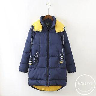 Pointed Hood Padded Jacket