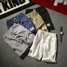 Linen Plain Shorts