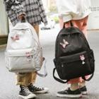 Rabbit Applique Backpack