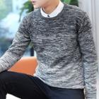 Gradient Melange Sweater