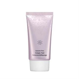 Missha - The Style Acetone Free Cream Nail Remover & Massage 40g 40g