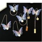 Butterfly Drop Earring / Threader Earring