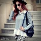 Paneled Appliue Top