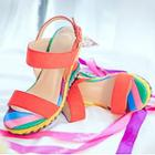 Wedge Strappy Sandals
