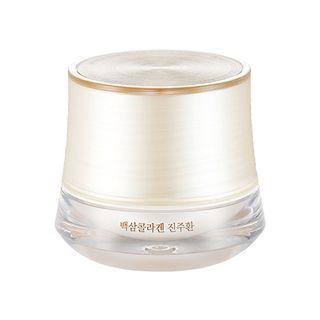 The Face Shop - Yehwadam White Ginseng Collagen Pearl Capsule Cream 50g