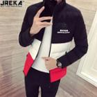 Colorblock Padded Jacket