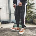 Color Block Harem Jogger Pants