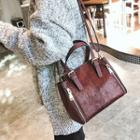 Furry Tote With Shoulder Strap