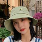 Embroidered Fruit Bucket Hat