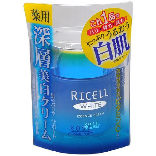 Kose - Ricell White Essence Cream 50g