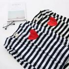 Long-sleeve Striped Applique Top